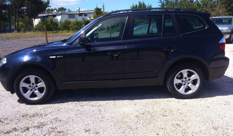 BMW X3 2.0 D 177 CV cheio